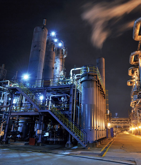 impianto oil & gas