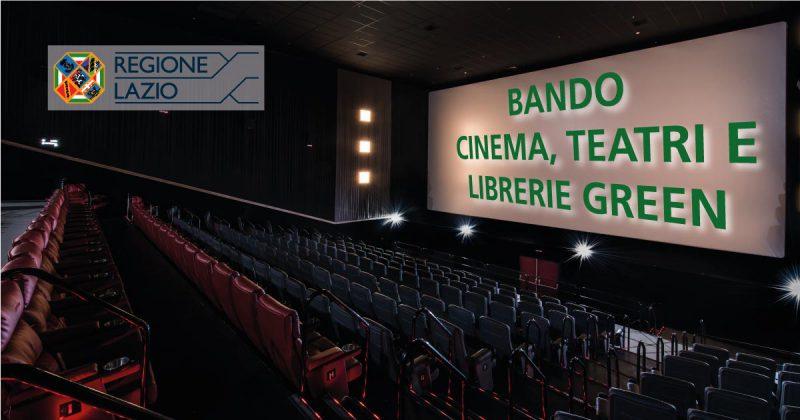 bando cinema teatri librerie verdi e digital