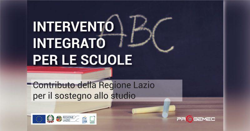 regione lazio contributo scuole