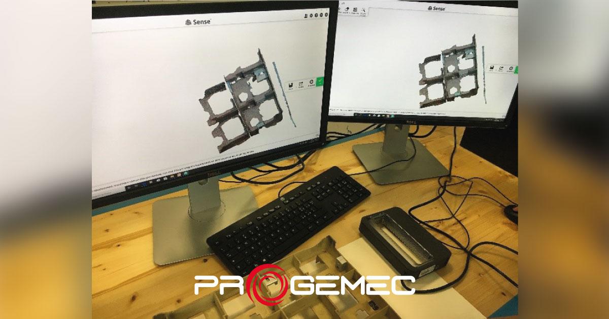 reverse engineering scansione laser