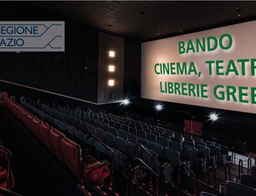 Bando Regione Lazio: contributo per Teatri, Cinema e Librerie indipendenti