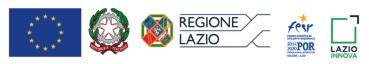 loghi regione lazio UE Lazioinnova por fesr