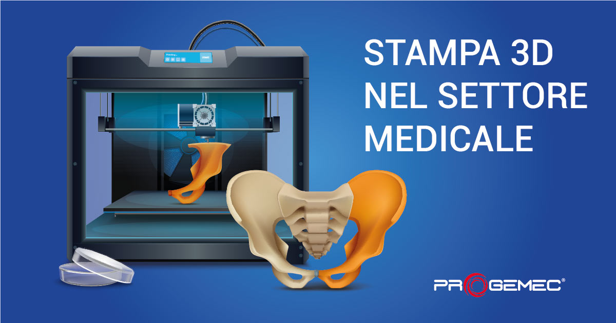 stampa 3d settore medicale