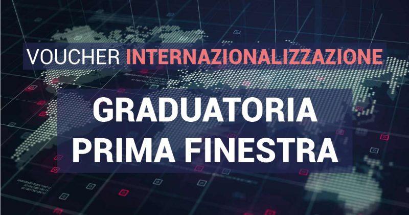 voucher internazionalizzazione graduatoria