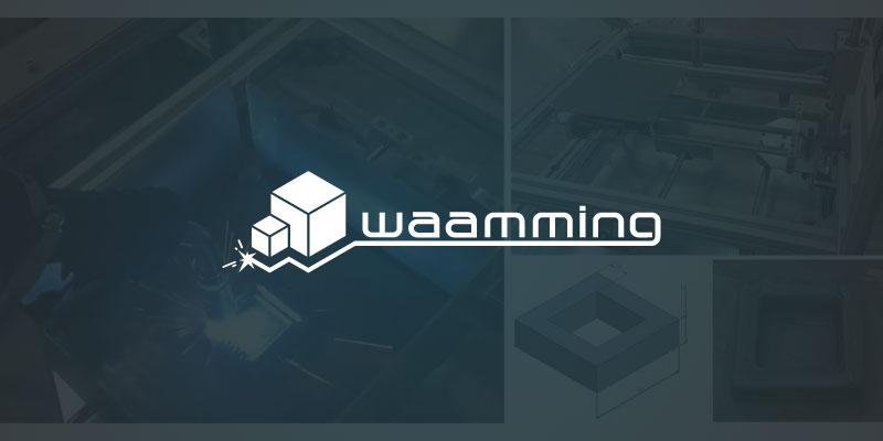 waamming stampante 3d metalli banner