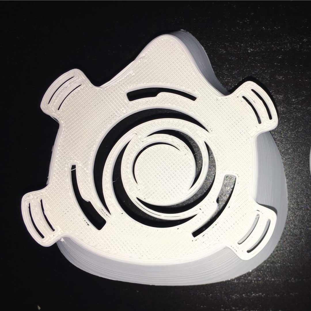 mascherina additive manufacturing