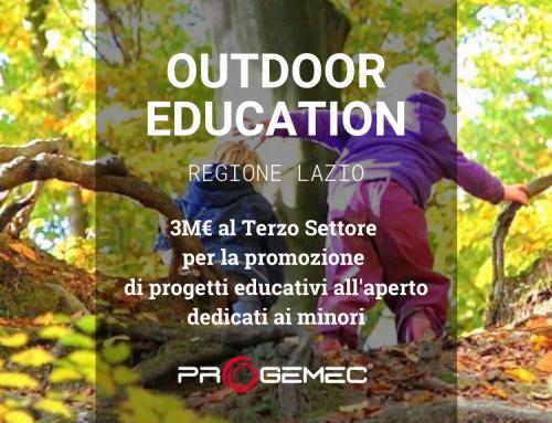 Outdoor Education: dalla Regione Lazio 3M€ per Enti del Terzo Settore