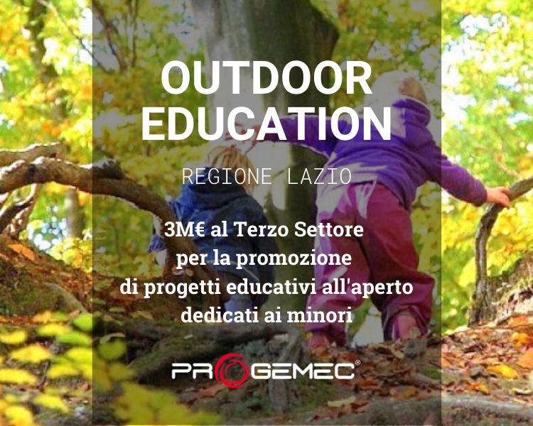 Educazione all'aperto per minori