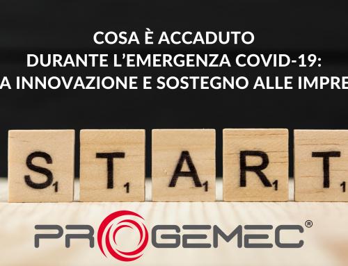 Progettazione, innovazione e sostegno alle imprese: Progemec e l'emergenza COVID19