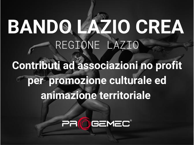 Bando Lazio Crea