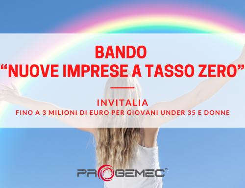 """Bando Invitalia """"Nuove Imprese a Tasso Zero"""" per lo sviluppo di Micro e Piccole Imprese e imprenditorialità femminile"""