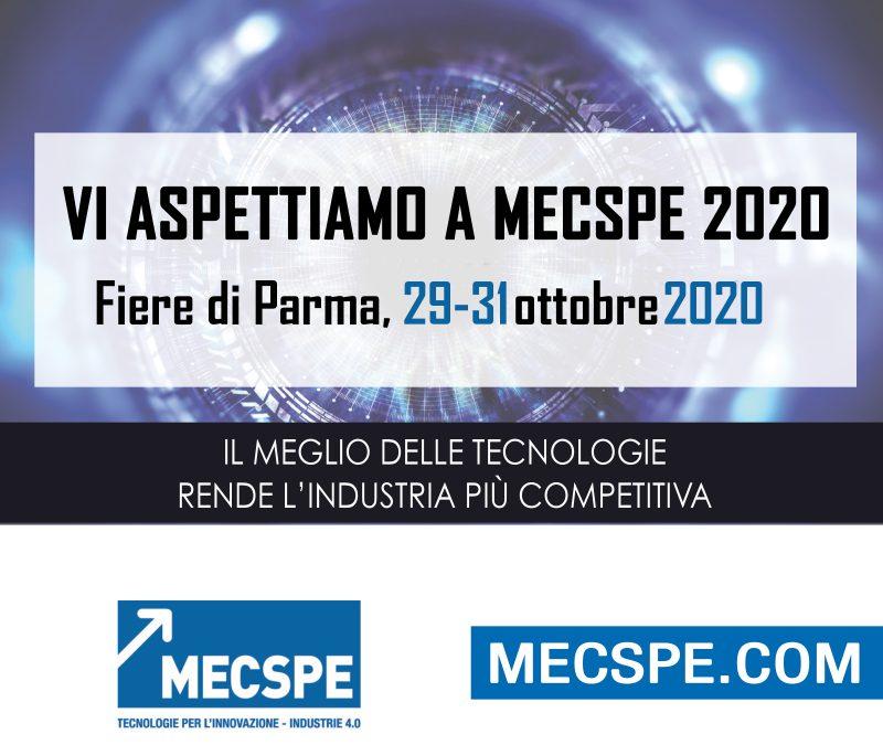 MECSPE PARMA OTTOBRE 2020