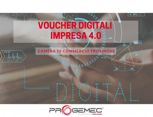 """Digitalizzazione delle Imprese: torna il bando """"Voucher Digitali impresa 4.0"""" della CCIAA di Frosinone"""