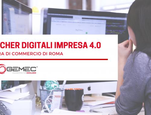 """""""Voucher Digitali impresa 4.0"""" della CCIAA di Roma per la Digitalizzazione delle Imprese"""