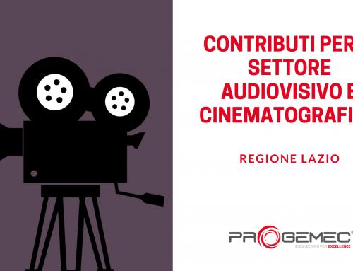 Contributi per Cinema e Audiovisivo dalla Regione Lazio
