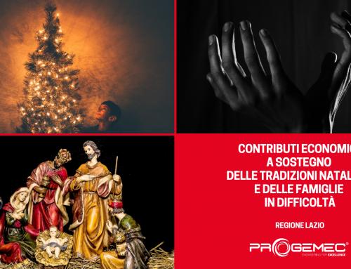 Oltre il Covid: la Regione Lazio a supporto delle tradizioni locali del Natale e contro la povertà