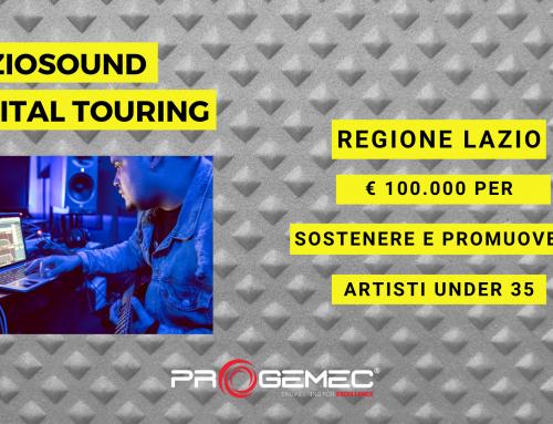 """""""LAZIOSOUND Digital Touring"""": promozione nazionale e internazionale degli artisti laziali under 35"""
