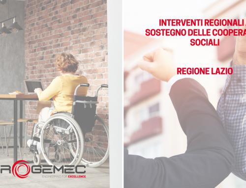 Interventi a sostegno delle cooperative sociali: il bando della Regione Lazio