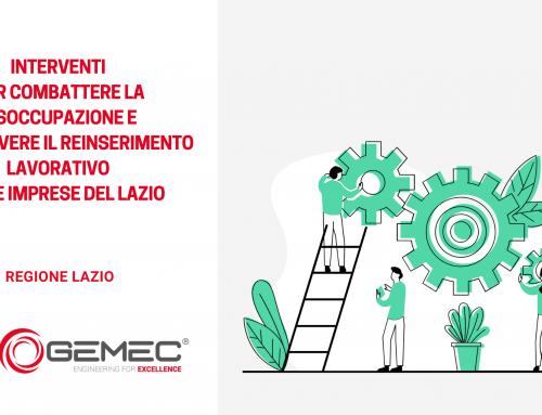 Interventi mirati per la disoccupazione e il reinserimento lavorativo – Regione Lazio