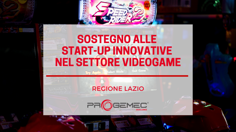 Startup videogame Lazio
