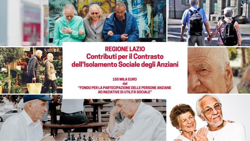 Contrasto Isolamento sociale anziani