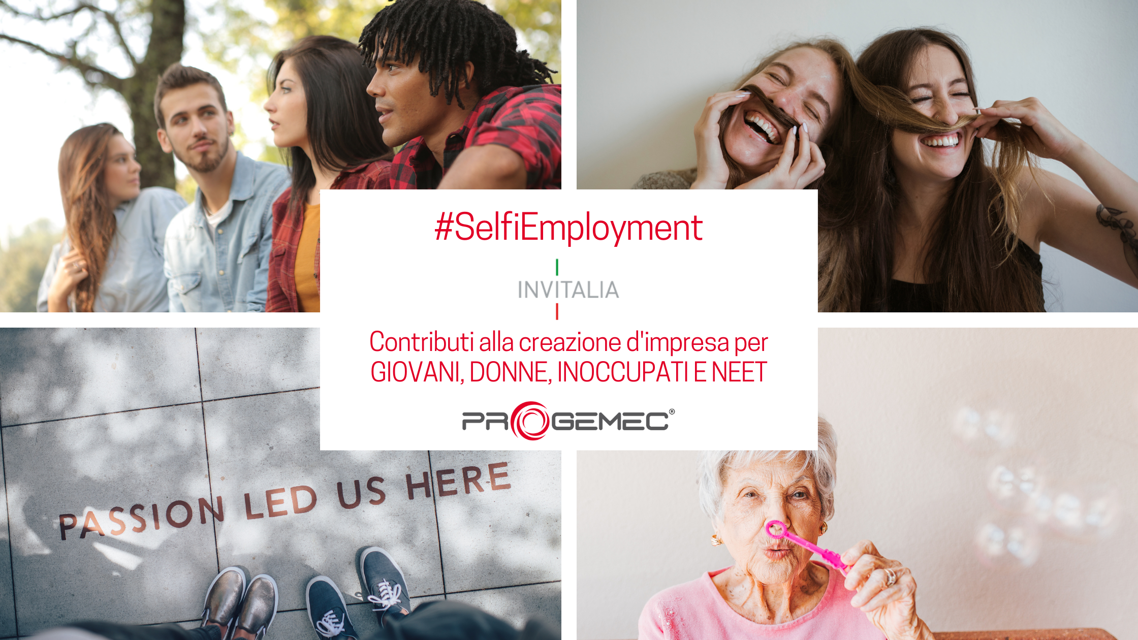 NUOVO SELFIEMPLOYMENT Prestiti a tasso zero per giovani, donne e disoccupati