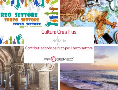 Cultura Crea Plus: contributi per il Terzo settore