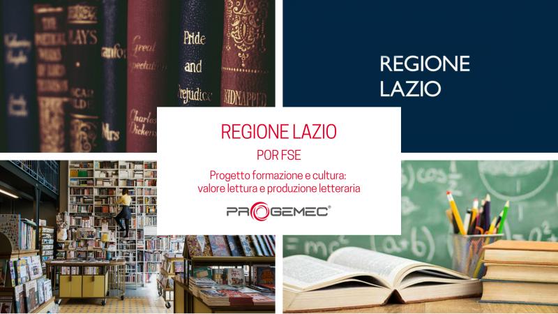 POR FSE - Progetto formazione e cultura: valore lettura e produzione letteraria