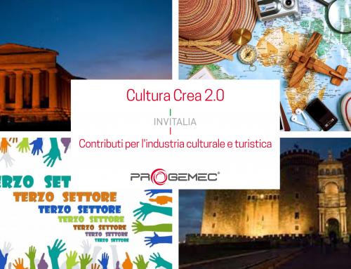 Cultura Crea 2.0: contributi per l'industria culturale e turistica