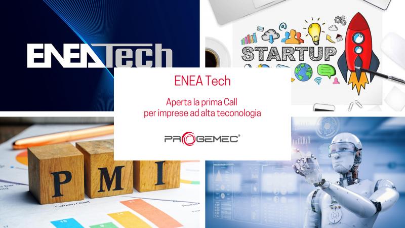 ENEA Tech - Aperta la prima Call