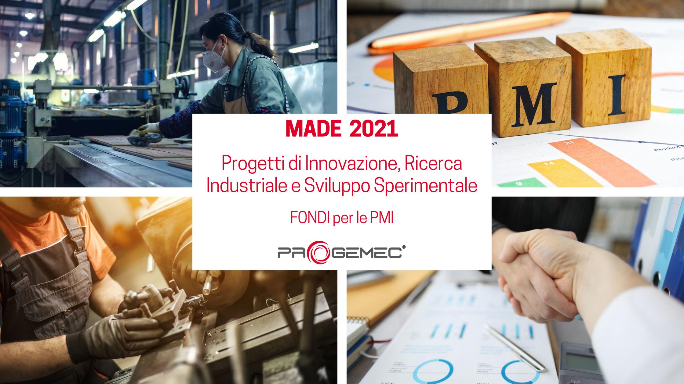 Bando MADE 2021 - Fondi per le PMI