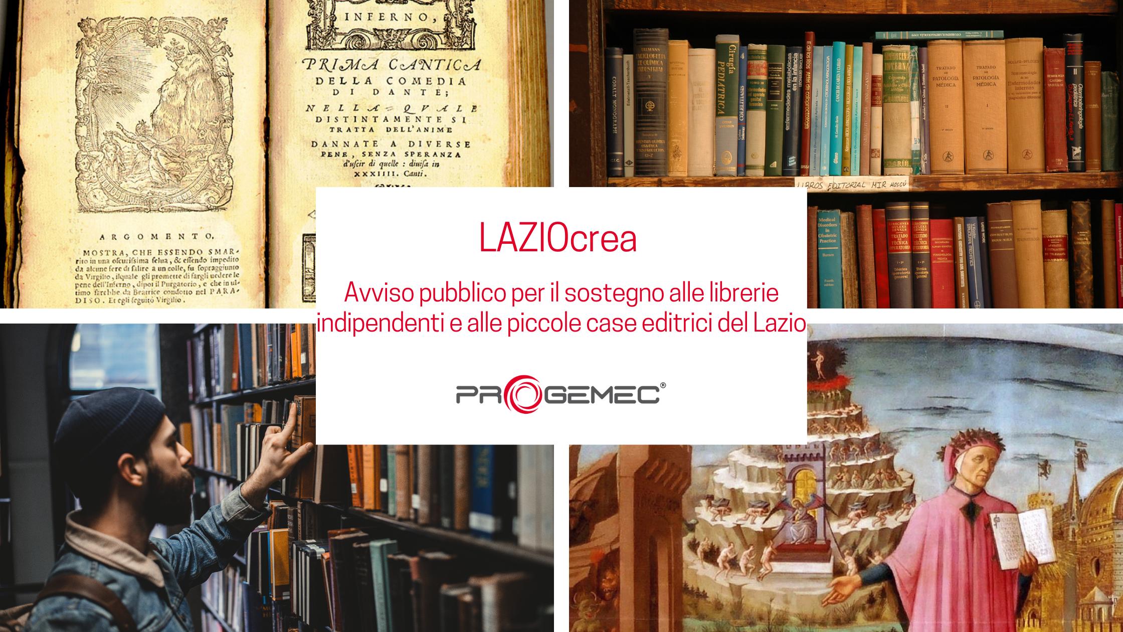 LAZIOcrea - Incentivi per librerie indipendenti e piccole case editrici