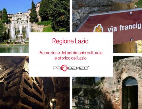 Promozione del patrimonio culturale e storico del Lazio