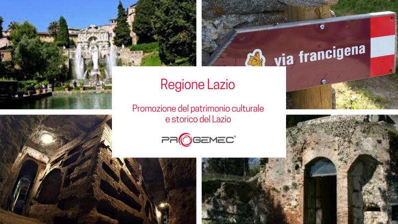 Regione Lazio - Promozione del patrimonio culturale e storico del Lazio